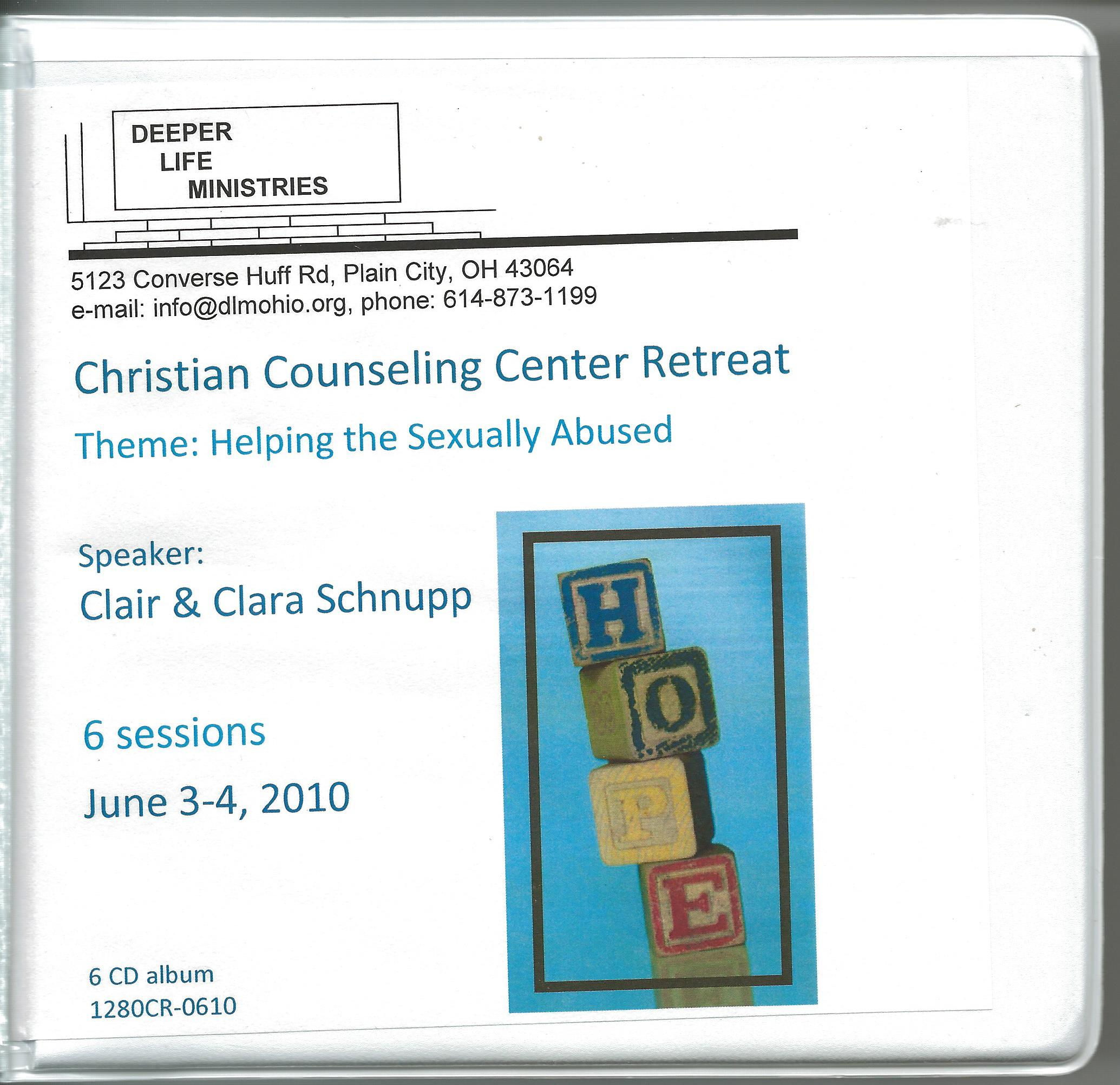 CHRISTIAN COUNSELING CENTER RETREAT 2010, CDs