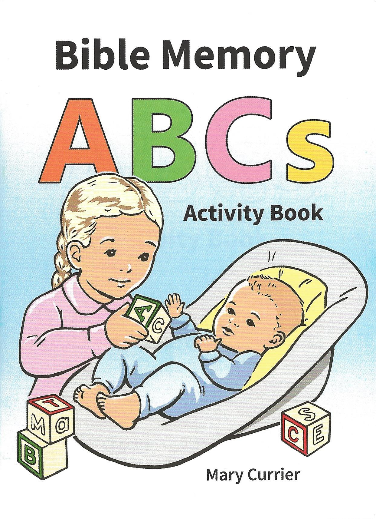 BIBLE MEMORY ABCs MINI ACTIVITY BOOK Mary Currier