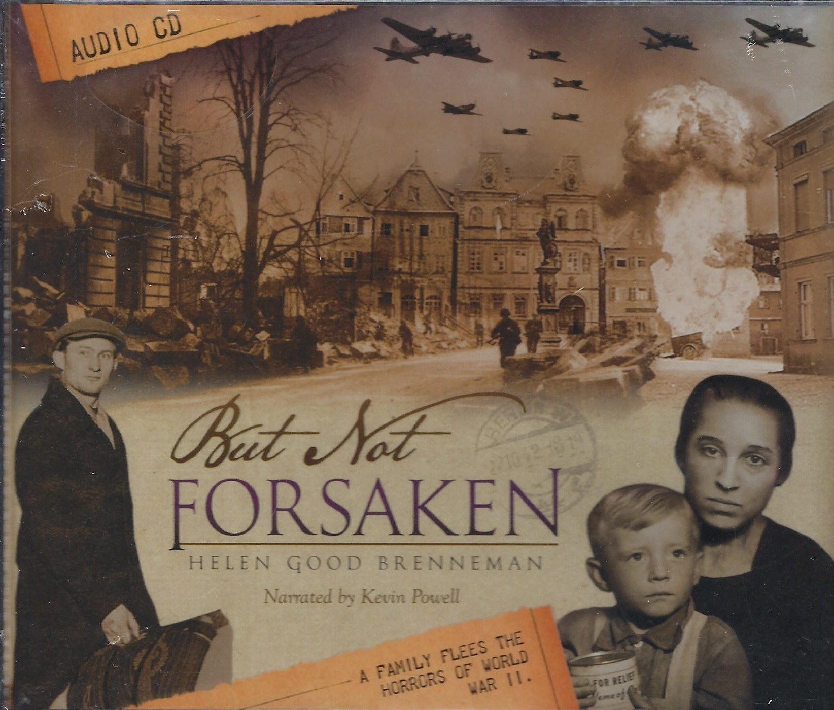 BUT NOT FORSAKEN Audiobook Helen Good Brenneman