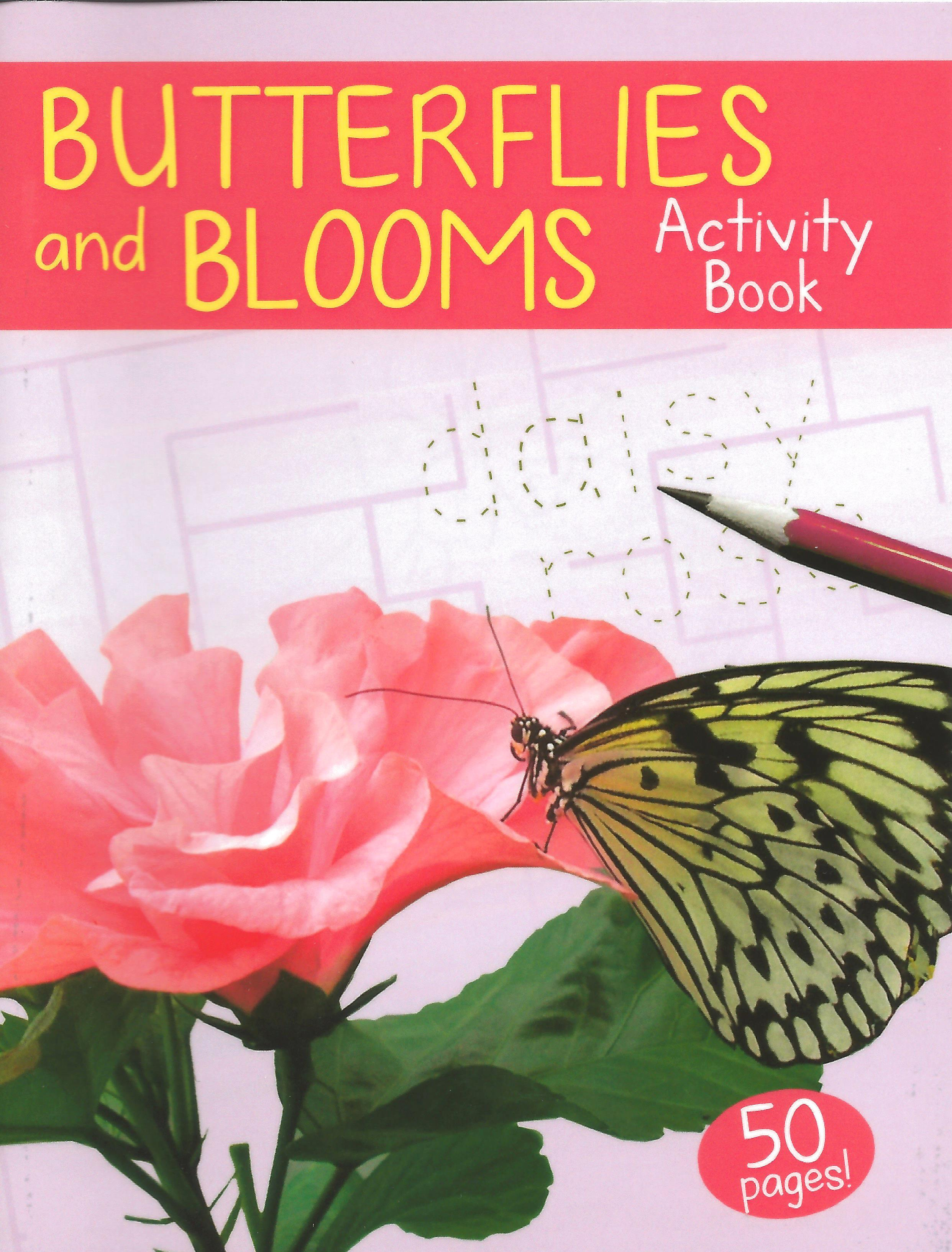 Butterflies and Blooms Mini Activity Book