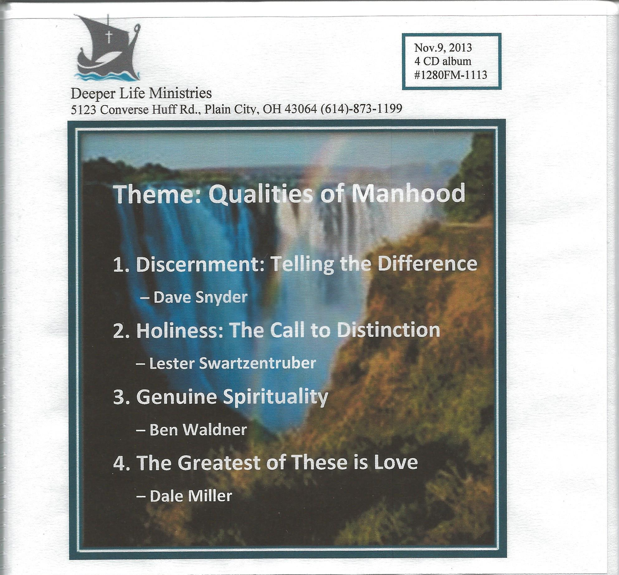 FAITHFUL MEN SEMINAR 2013 4 CD album