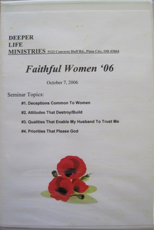 FAITHFUL WOMEN SEMINAR 2006 4 CD album