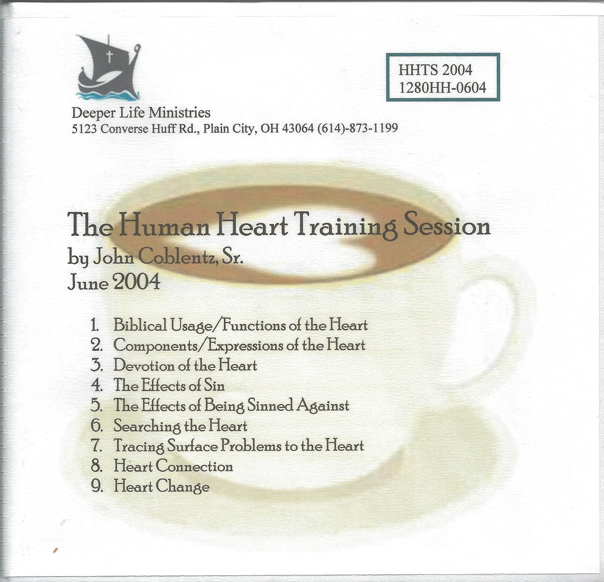 THE HUMAN HEART TRAINING SESSION 9 CD album