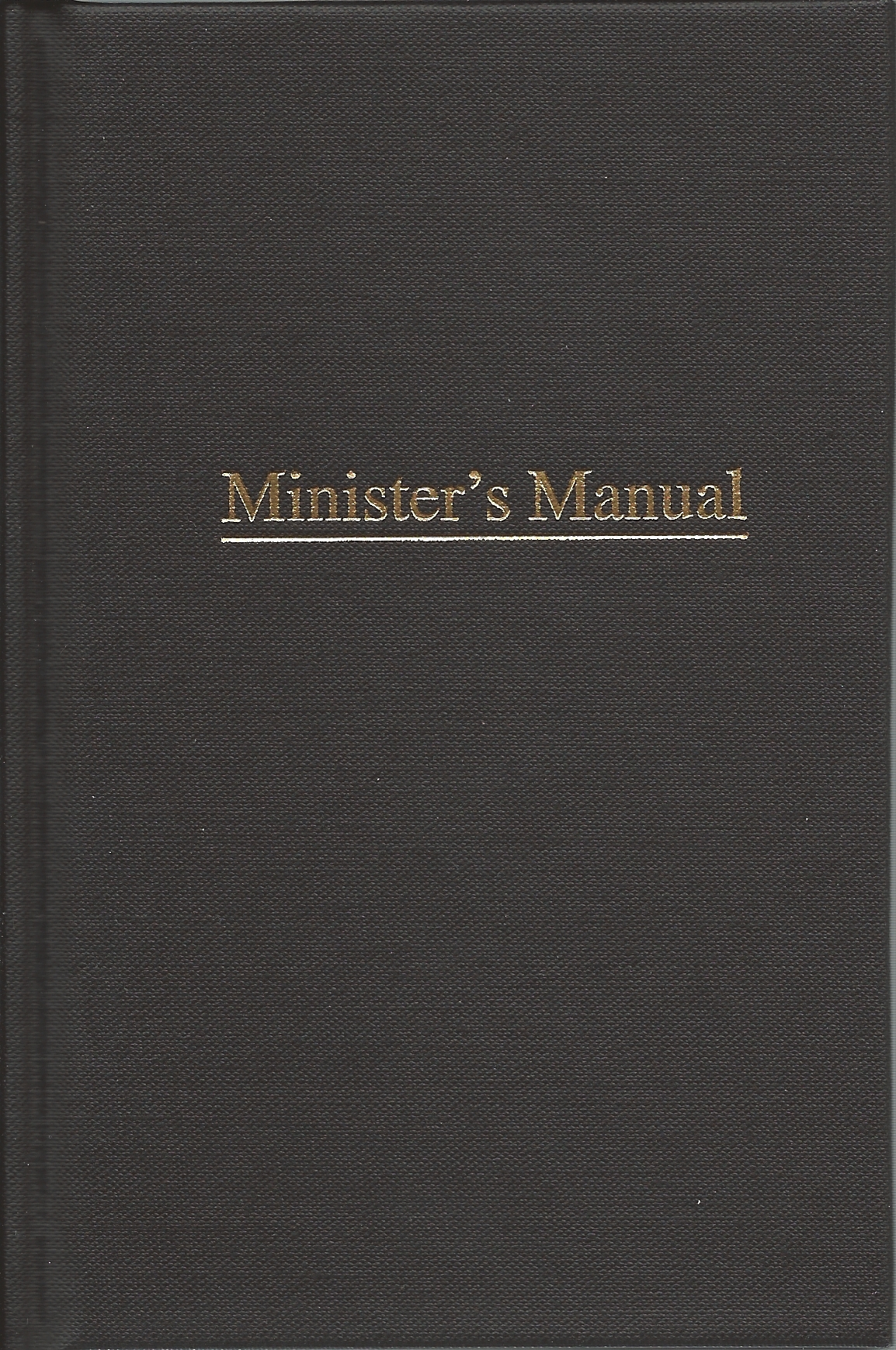MINISTER'S MANUAL Lamp & Light Publishers