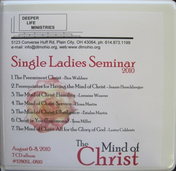SINGLE LADIES SEMINAR 2010 7 CD album