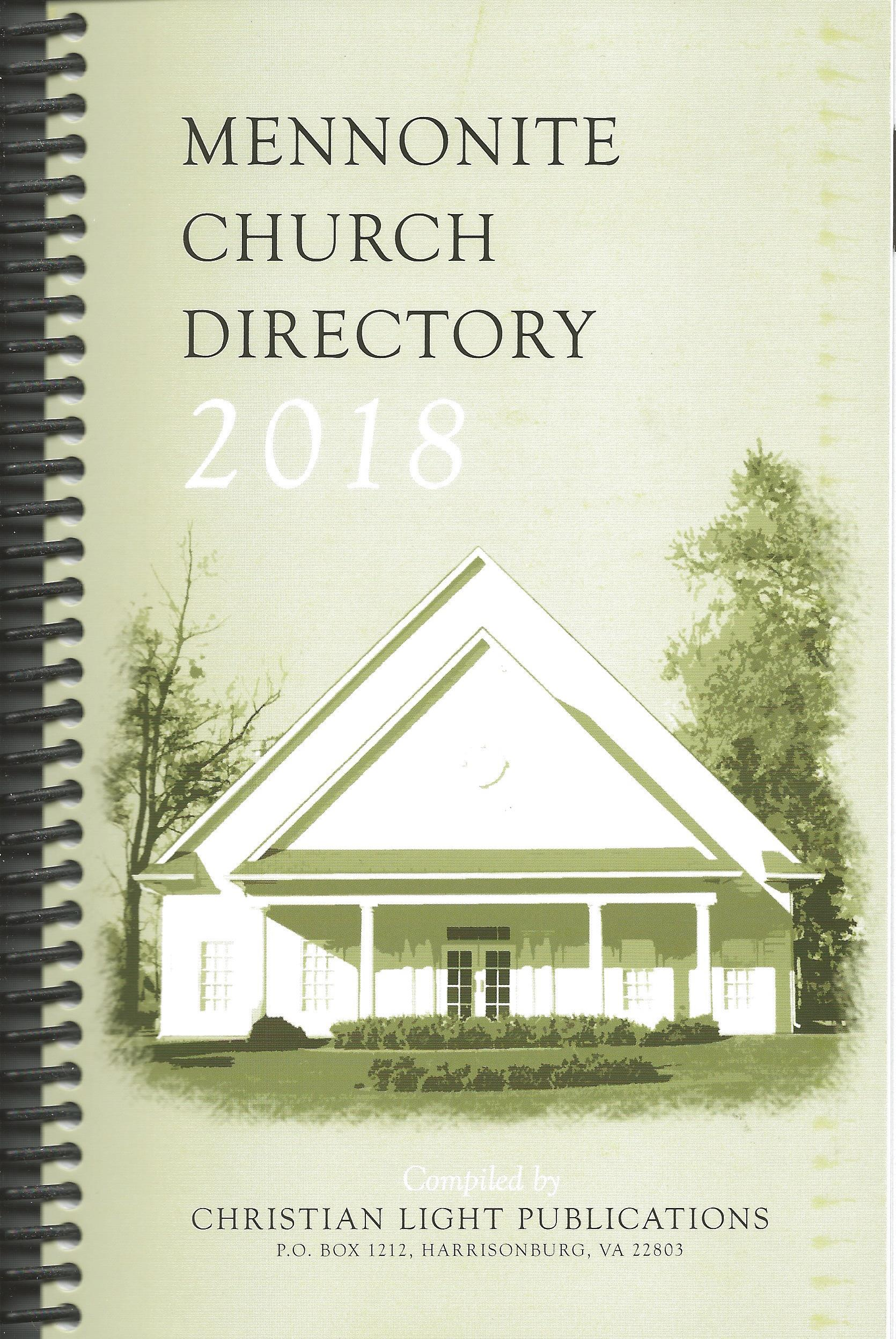 2018 MENNONITE CHURCH DIRECTORY CLP