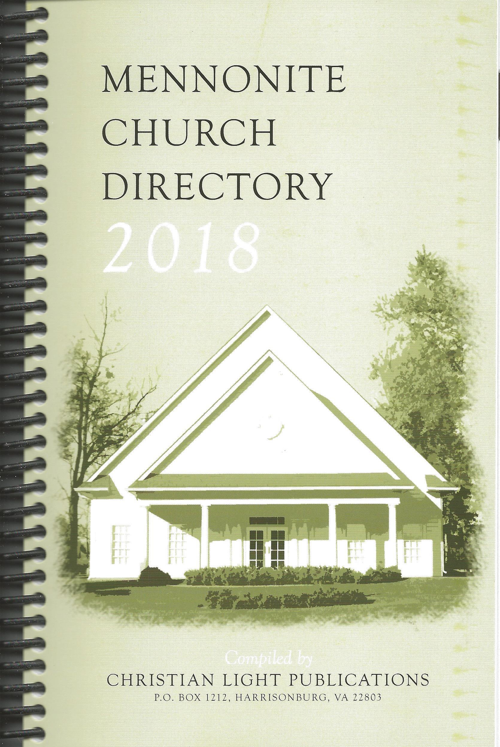 Captivating 2018 MENNONITE CHURCH DIRECTORY CLP Amazing Design