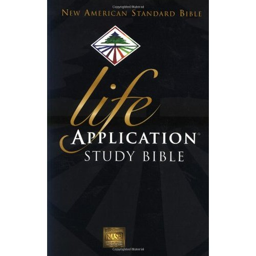 NASB LIFE APPLICATION STUDY BIBLE Hardback