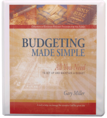 BUDGETING MADE SIMPLE Gary Miller