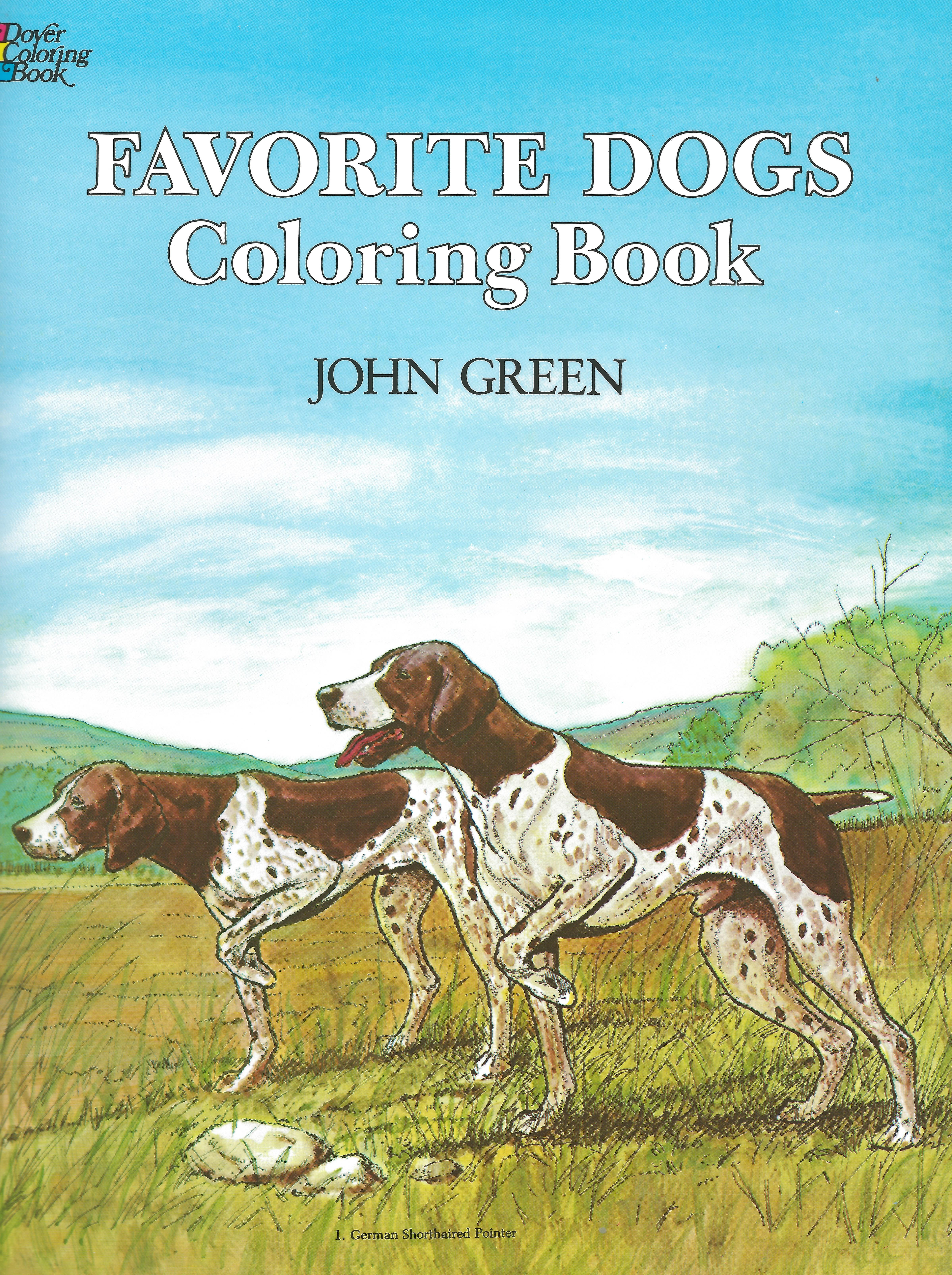 FAVORITE DOGS COLORING BOOK John Green