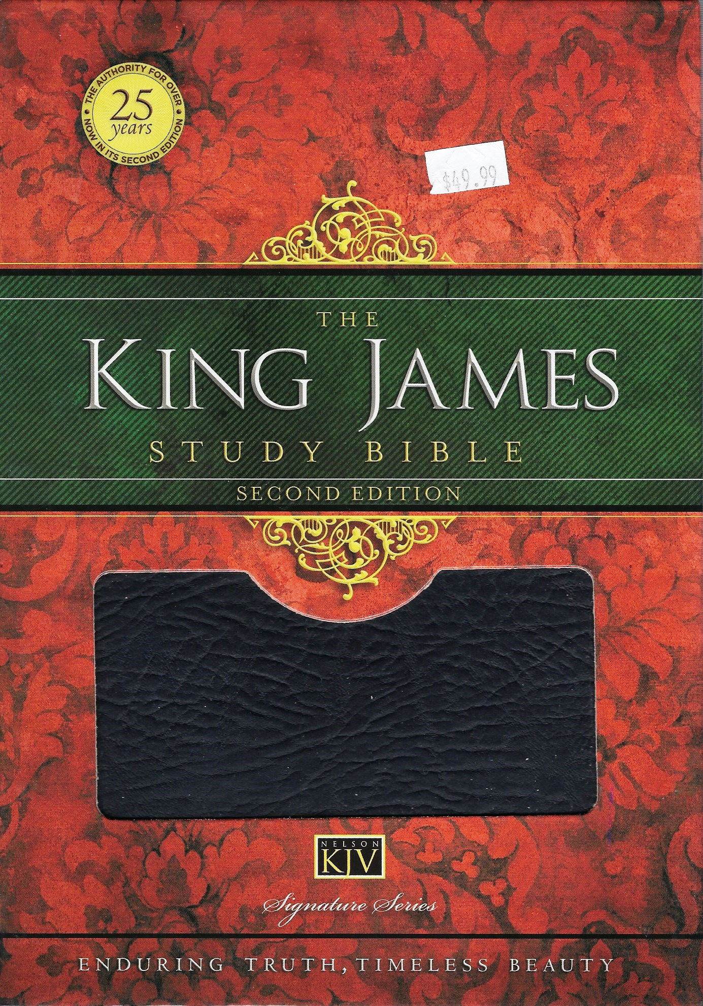 THE KING JAMES STUDY BIBLE Second Edition