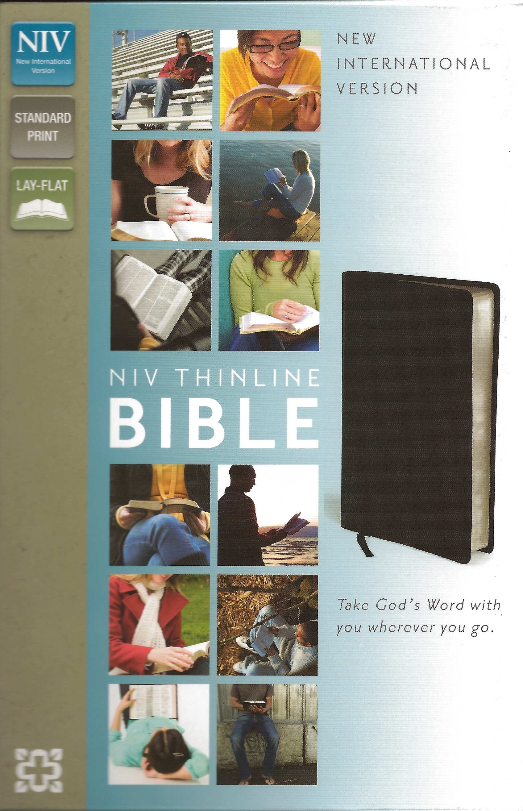 NIV THINLINE BIBLE Bonded Leather