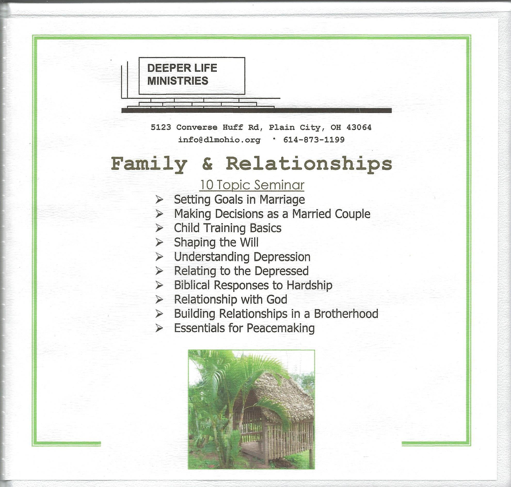 FAMILY & RELATIONSHIPS John Coblentz