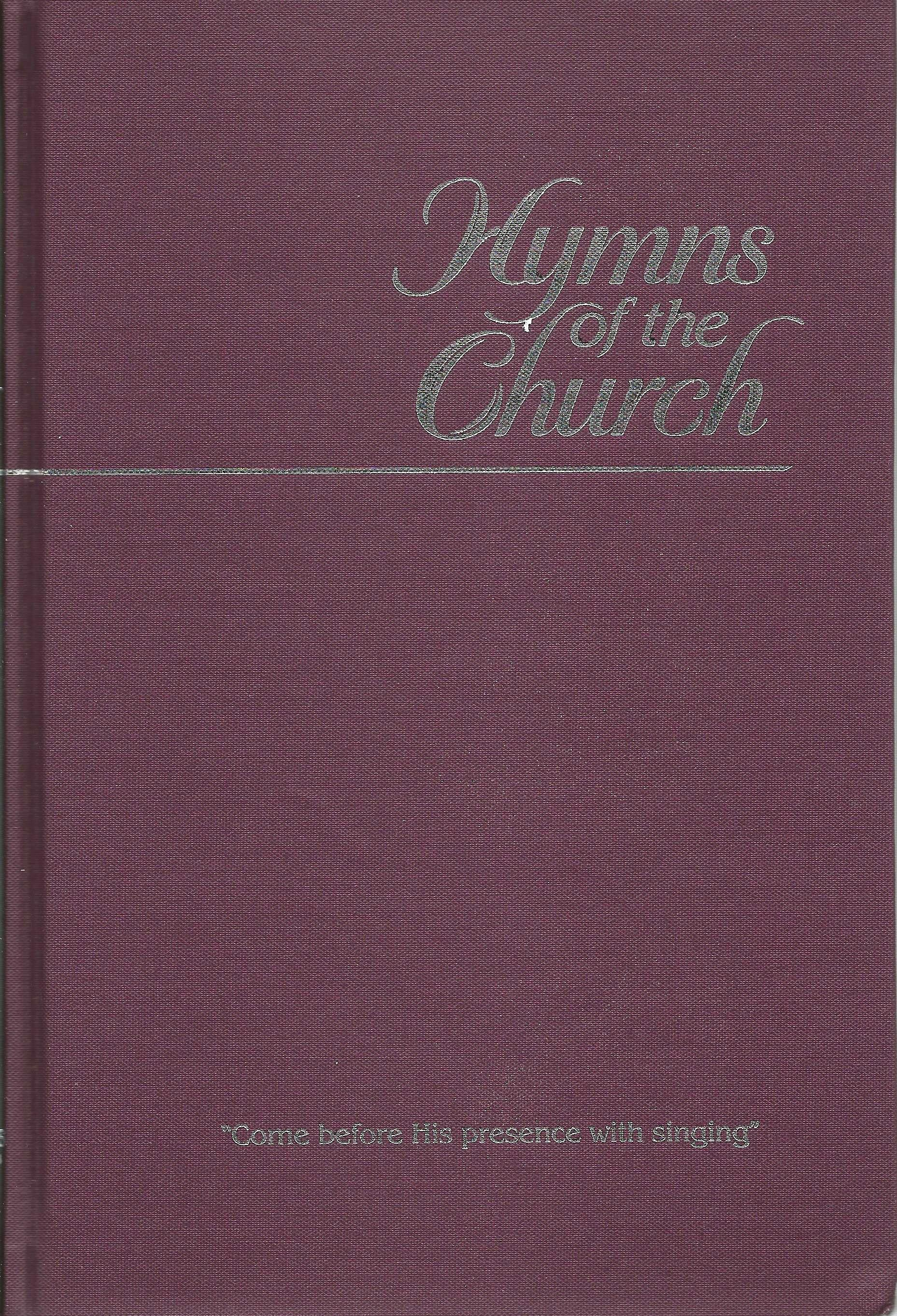 HYMNS OF THE CHURCH John D Martin