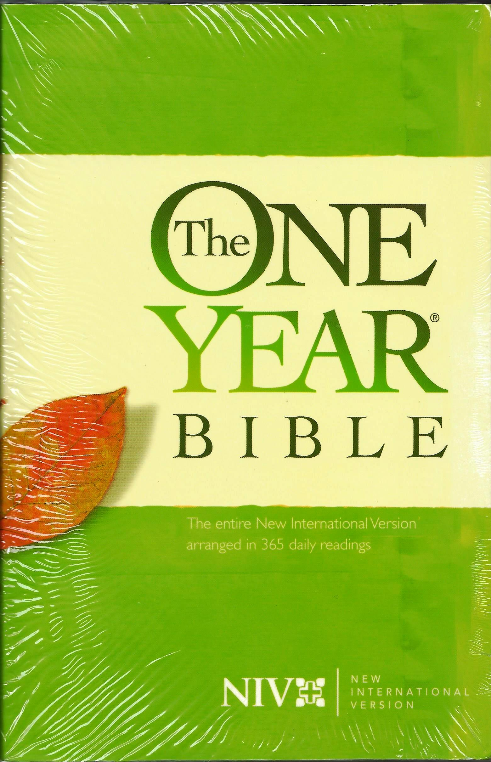 NIV THE ONE YEAR BIBLE Softcover