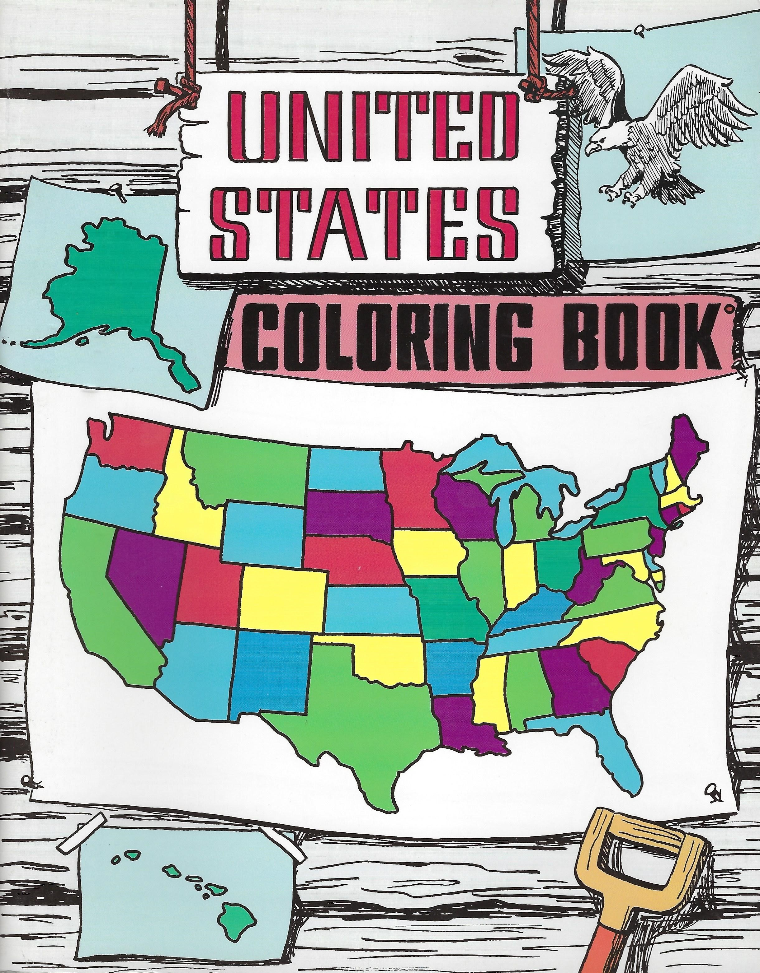 UNITED STATES COLORING BOOK Rod and Staff
